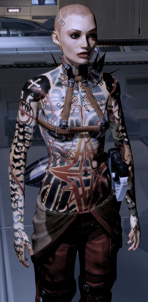 Jack Subject Zero (Mass Effect 2) high resolution model