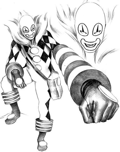 Jack in the Box (Astro City) design sketch