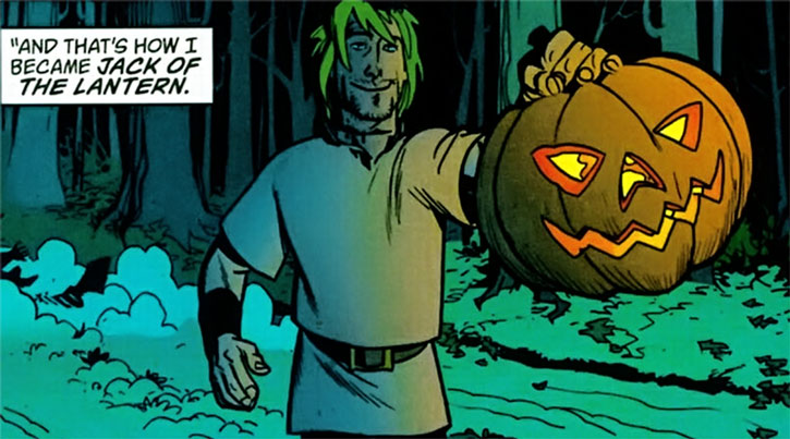 Jack of Fables as Jack of the Lantern
