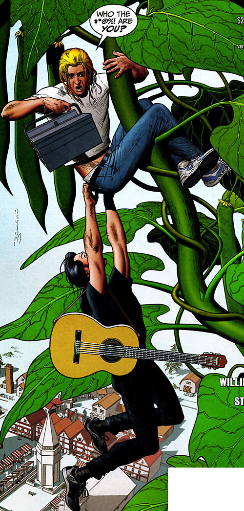 Jack of Fables (DC Comics) - beanstalk and Wicked John