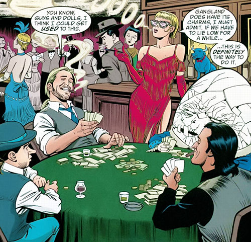 Jack of Fables (DC Comics) - playing cards in gangland