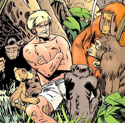 Jack of Fables (DC Comics) - Jack 'n' apes