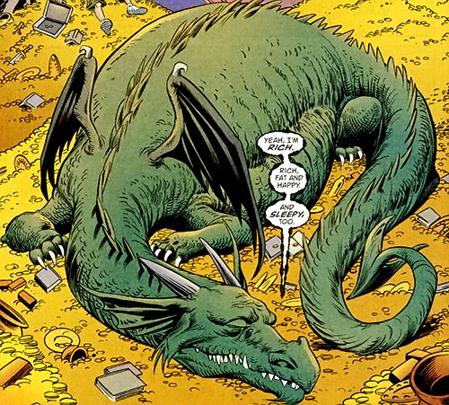 Jack of Fables (DC Comics) - Jack Dragon