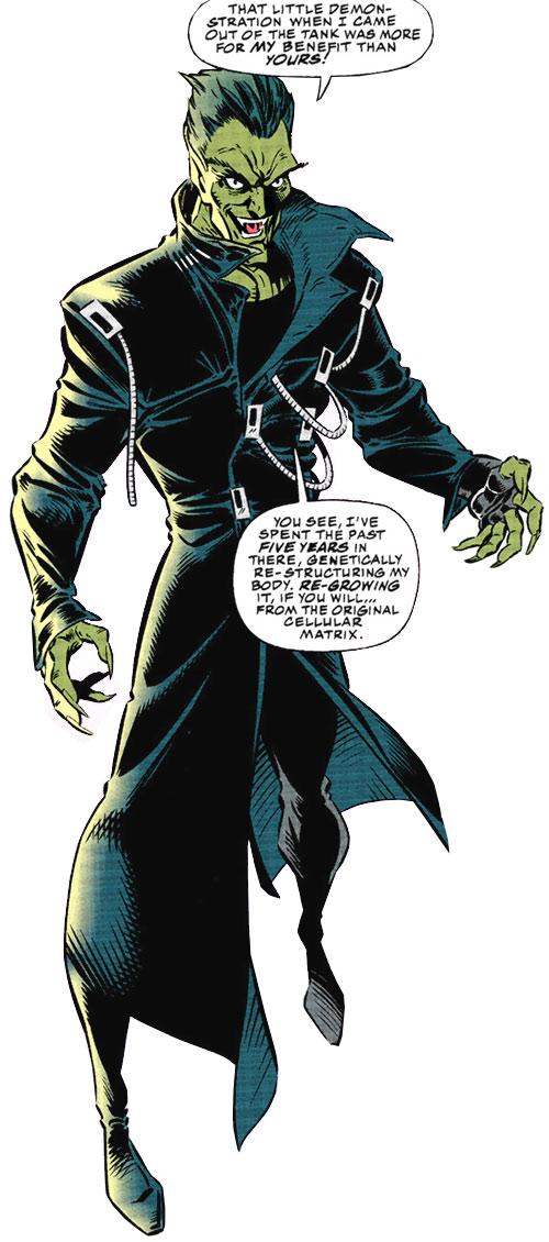 Jackal II (Marvel Comics) in leather