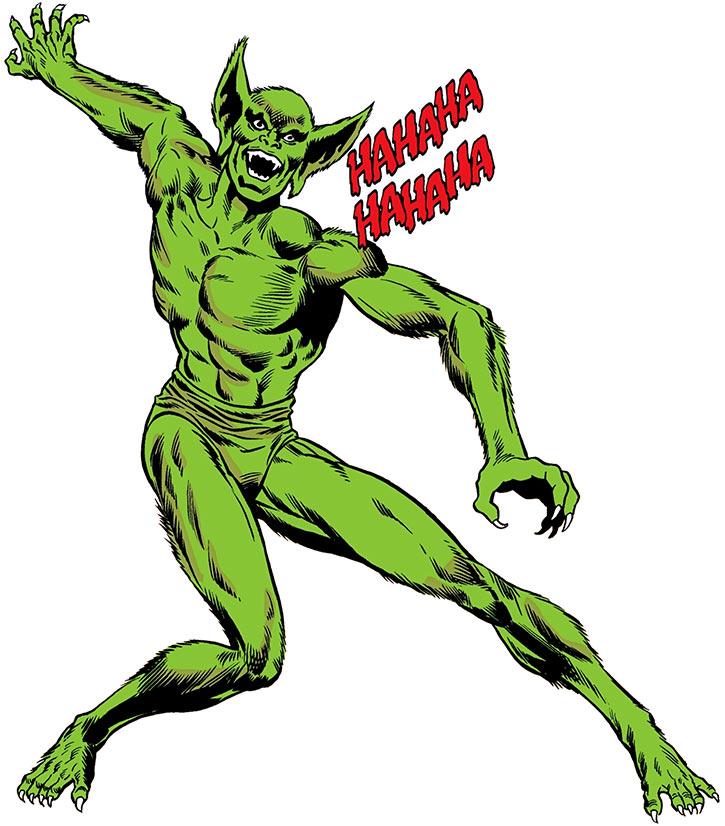 Jackal (Spider-Man enemy) (Marvel Comics) splash art by Larocque and Giacoia