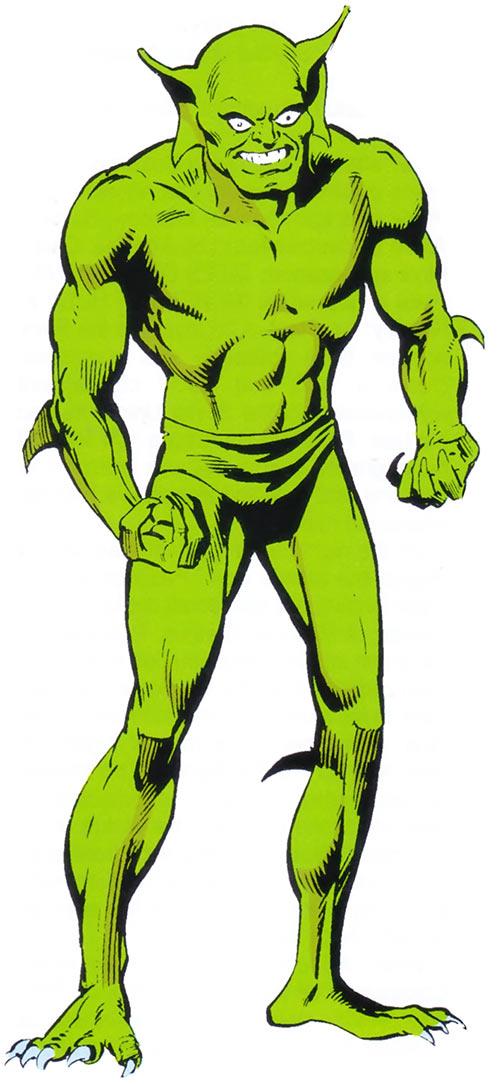 Jackal (Miles Warren) (Spider-Man enemy) (Marvel Comics) from the older handbook