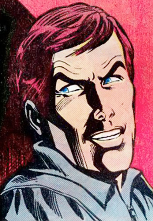 Jackhammer (Superman enemy) (DC Comics) face closeup