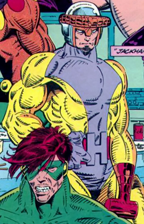 Jackhammer (Marvel Comics) as a Master of Evil