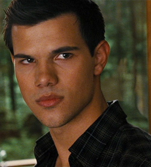 Jacob Black (Taylor Lautner in Twilight) face closeup