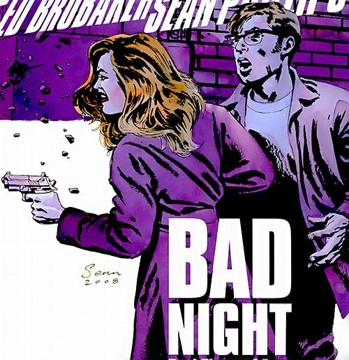 Jacob Kurtz (Brubaker's Criminal comics) cover with Iris
