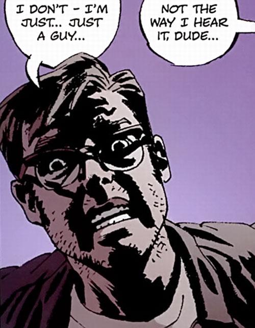 Jacob Kurtz (Brubaker's Criminal comics) terrified