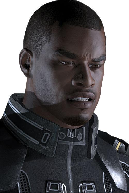 Jacob Taylor (Mass Effect) angry
