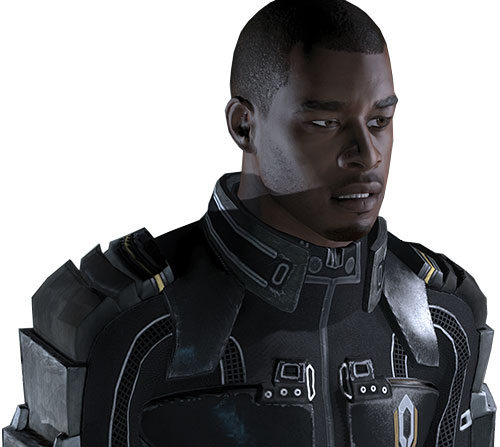Jacob Taylor (Mass Effect) hesitating