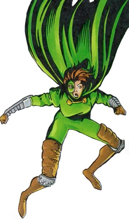 Jade Cobra of Strikeback! (Malibu and Image comics) landing