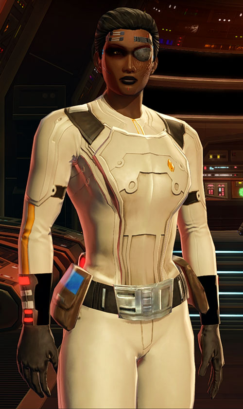 SWTOR - Star Wars the Old Republic- Cyborg republic trooper off-white armor