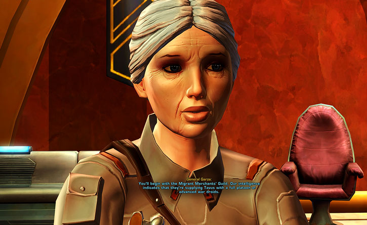 SWTOR - Star Wars the Old Republic- General Garza