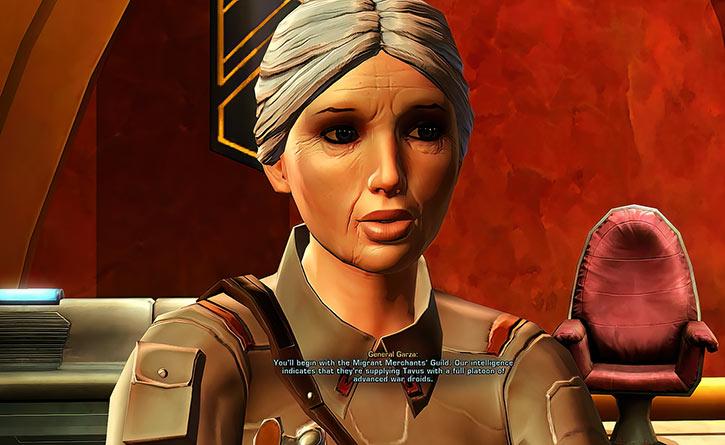 SWTOR - Star Wars the Old Republic- General Garza
