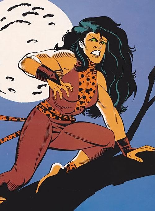 Jaguar (Impact Comics) (De Guzman)