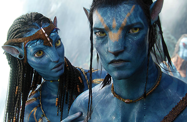 Jake Sully and Neytiri