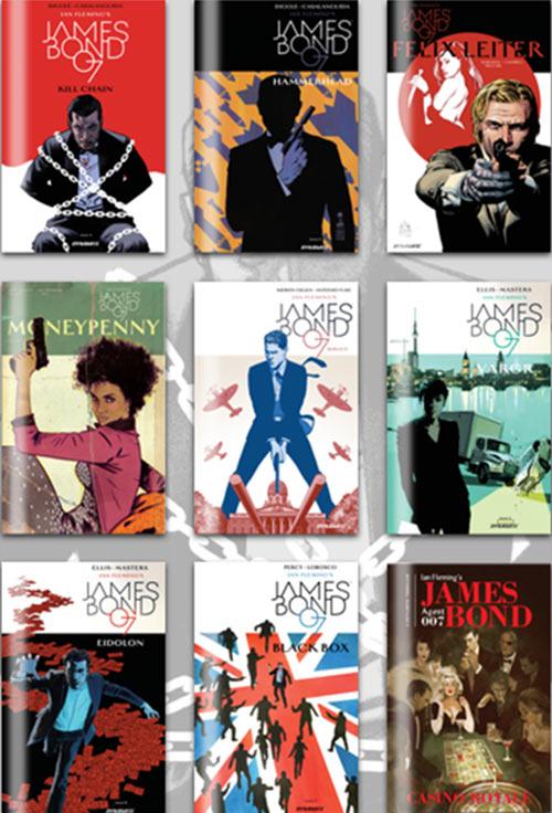 James Bond comic books Humble Bundle
