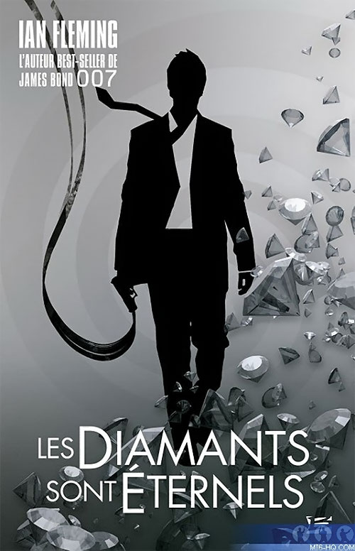 French cover to Diamonds are forever