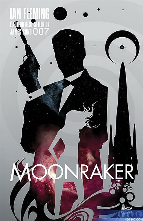 French cover to Moonraker