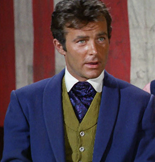 James West (Robert Conrad in Wild Wild West) portrait