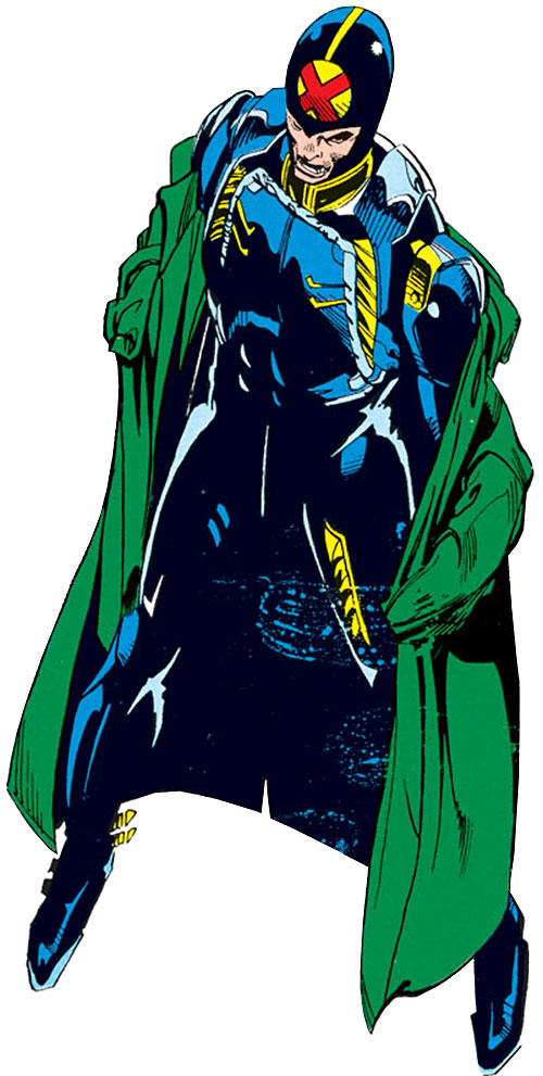 Jamie Madrox the Multiple Man of X-Factor (Marvel Comics) in his 1990s costume