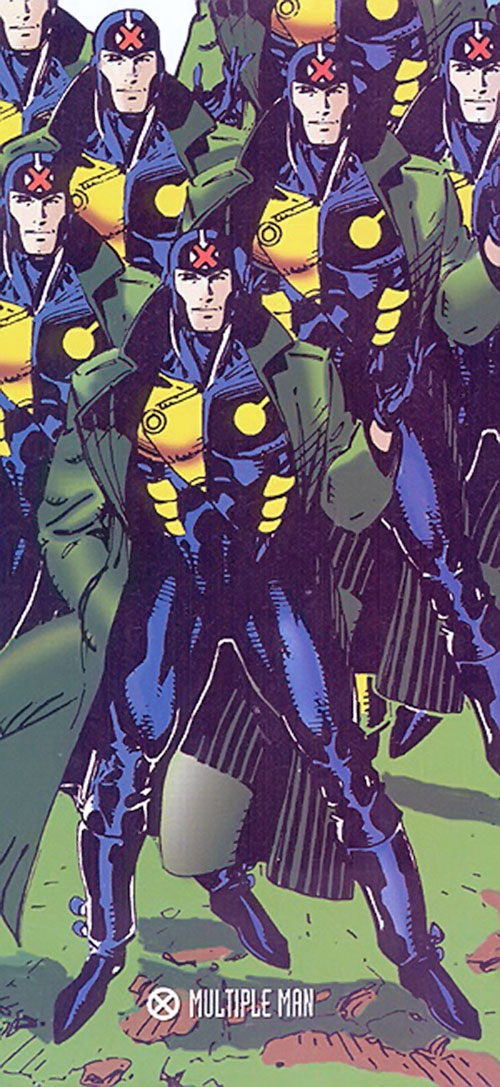 Jamie Madrox the Multiple Man of X-Factor (Marvel Comics) by Jim Lee