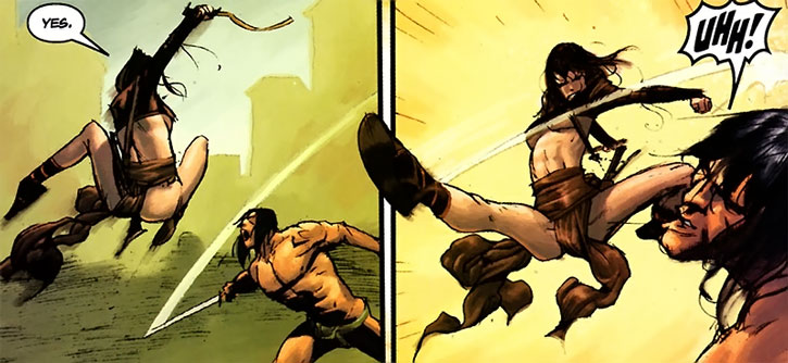 Janissa vs. Conan