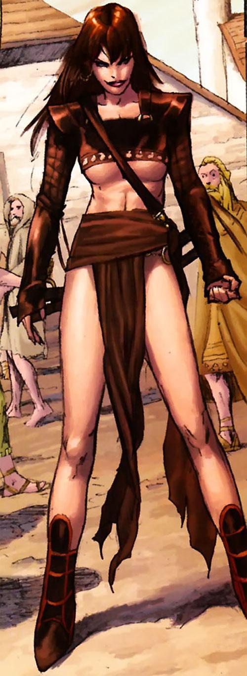 Janissa the Widowmaker (Conan ally) (Dark Horse Comics)