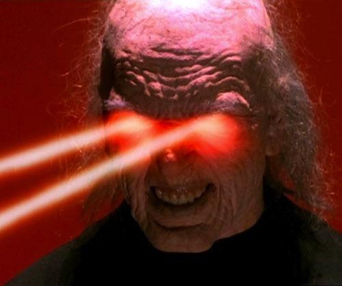 Javna (Charmed demon) shooting eye beams