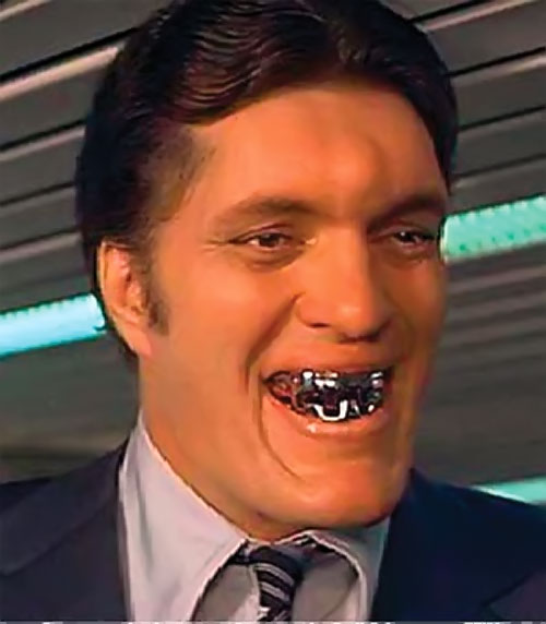 Jaws (Richard Kiel in James Bond movies) grinning face closeup