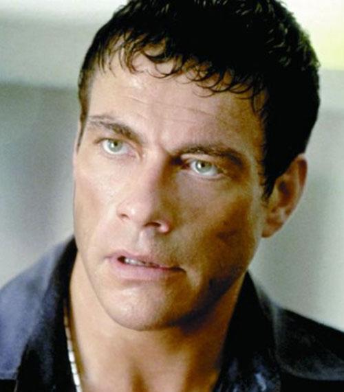 Jean-Claude van Damme face closeup