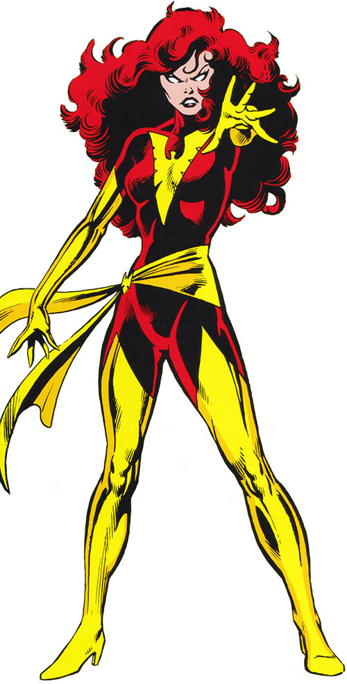 Jean Grey (Marvel Comics X-Men) as the Dark Phoenix