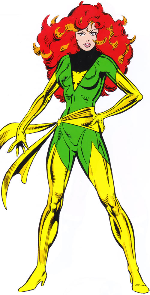 Jean Grey (Marvel Comics X-Men) as the Phoenix