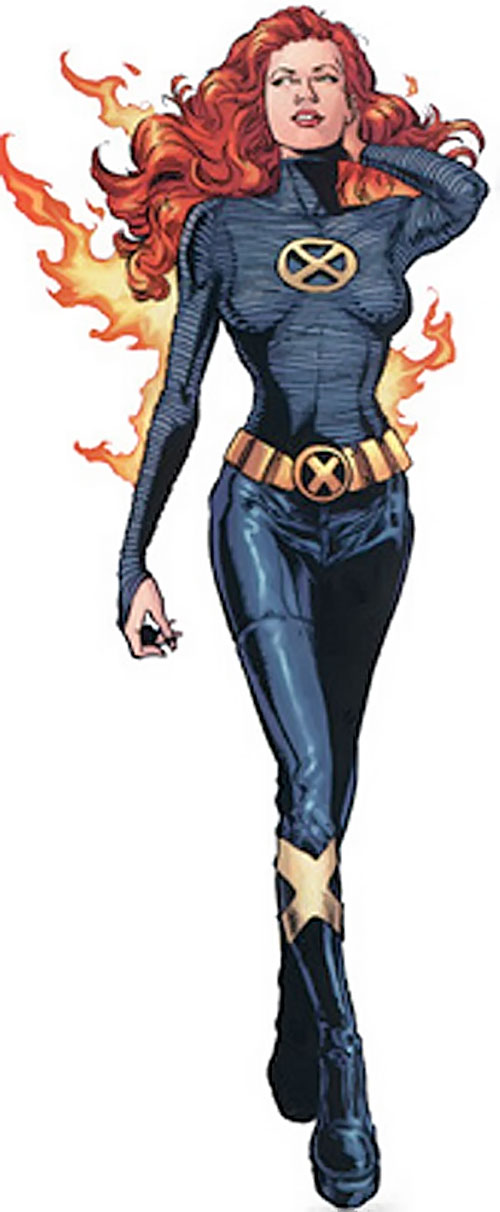 Jean Grey (Phoenix) (Marvel Comics) in the black New X-Men uniform