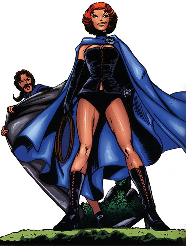 Jean Grey as the Black Queen of the Hellfire Club