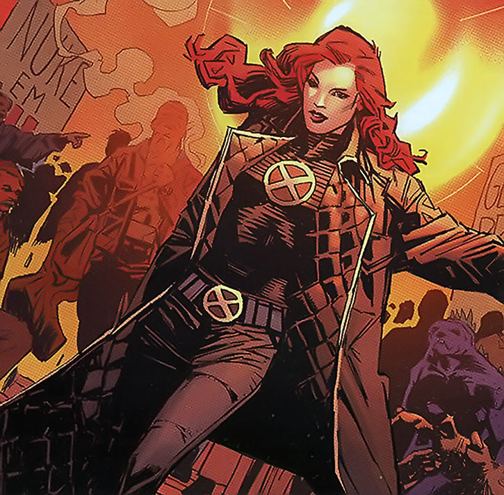 Jean Grey in the New X-Men uniform