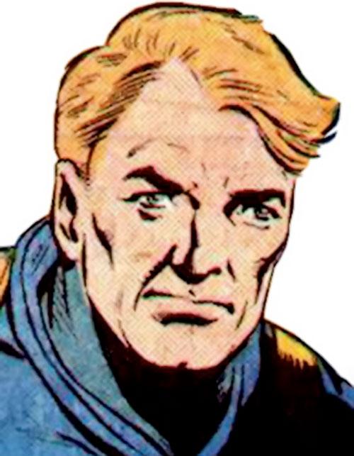 Jeff Bright of the Suicide Squad (DC Comics) 1980s face closeup