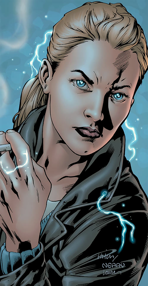 Jenny Sparks portrait (Wildstorm Comics) (The authority)