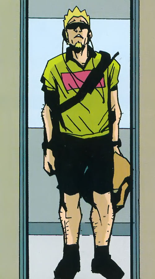 Jensen of the Losers (DC Comics) in disguise