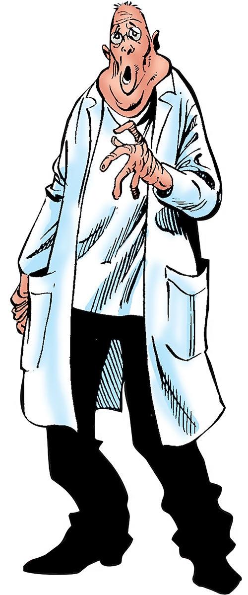 Jerry Morgan of the Headmen (Marvel Comics)
