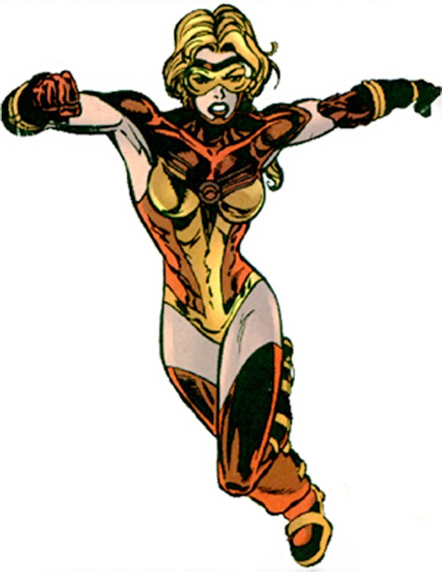 Jesse Quick (DC Comics) running