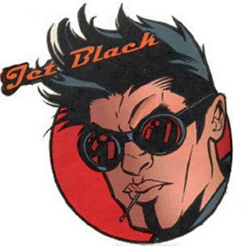 Jet Black of the Rising Sons (Marvel Comics) portrait