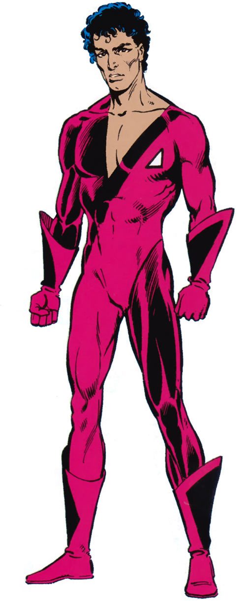 Jetstream of the Hellions (Marvel Comics) from the handbook