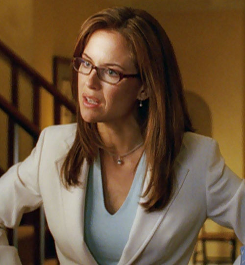 Jetstream (Kelly Preston in Sky High) white suit glasses