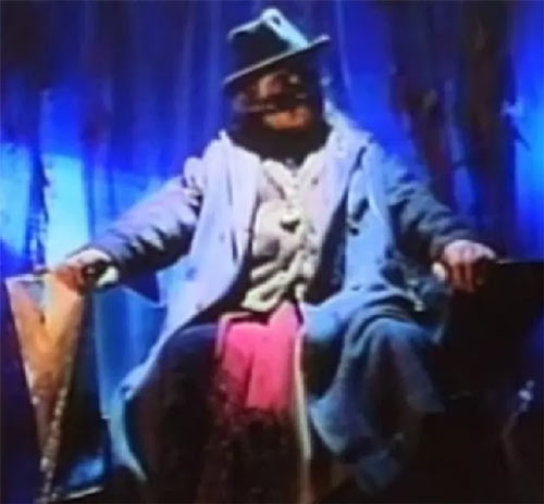 Jeweler (Fantastic Four) (1994 Roger Corman film) sitting throne