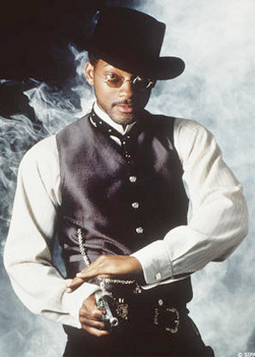 James West (Will Smith) with his pistol draw
