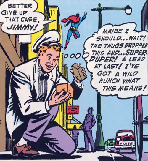 Jimmy Olsen, Superman's Pal as an ice cream salesman
